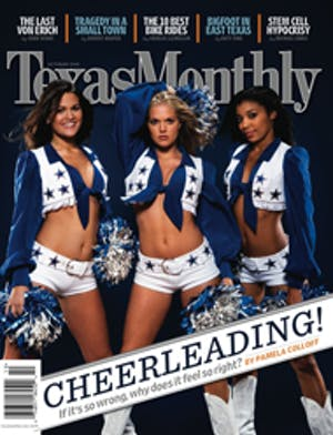 Cover of Texas Monthly October 2005