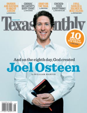 Cover of Texas Monthly August 2005