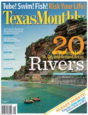 Cover of Texas Monthly June 2005