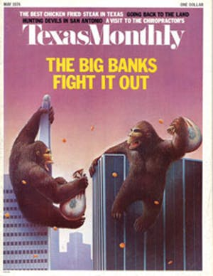 Cover of Texas Monthly May 1974