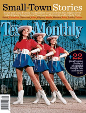 Cover of Texas Monthly September 2004