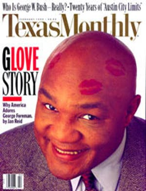 Cover of Texas Monthly February 1995