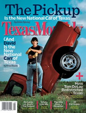 Cover of Texas Monthly August 2004