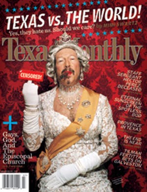 Cover of Texas Monthly July 2004