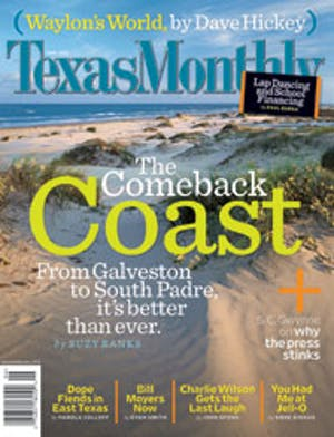 Cover of Texas Monthly June 2004