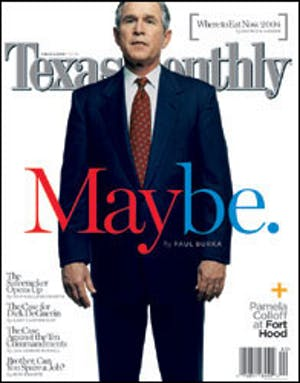 Cover of Texas Monthly February 2004