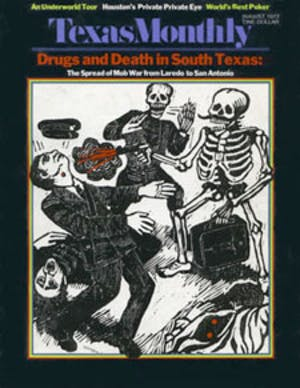 Cover of Texas Monthly August 1973