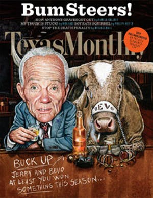 Cover of Texas Monthly January 2011