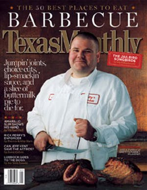 Cover of Texas Monthly May 2003