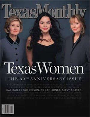 Cover of Texas Monthly February 2003