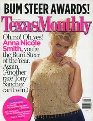 Cover of Texas Monthly January 2003