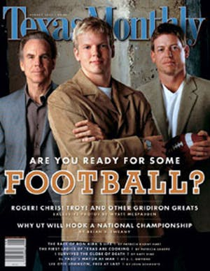 Cover of Texas Monthly August 2002