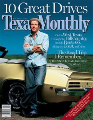 Cover of Texas Monthly May 2002