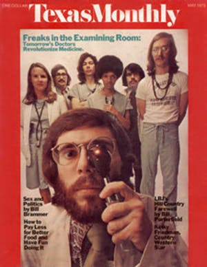 Cover of Texas Monthly May 1973