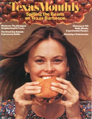 Cover of Texas Monthly April 1973