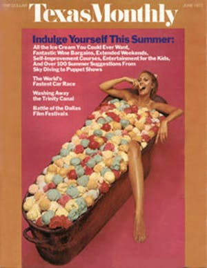 Cover of Texas Monthly June 1973