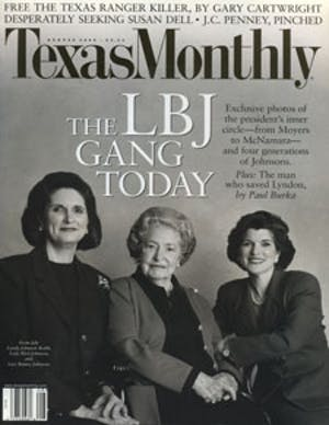 Cover of Texas Monthly August 2000