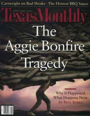 Cover of Texas Monthly April 2000