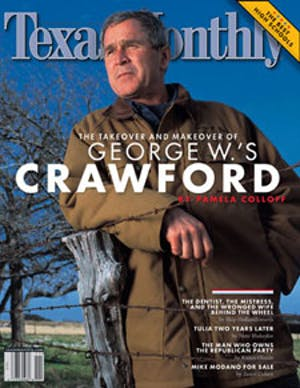 Cover of Texas Monthly November 2002