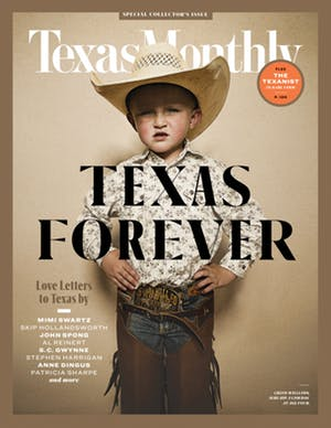 Cover of Texas Monthly February 2019