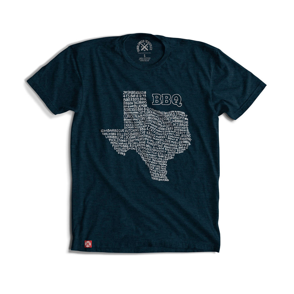 The Definitive Texas BBQ Tee