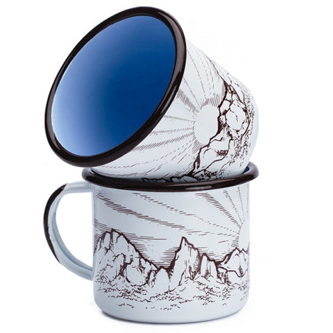 Big Bend Enamel Mug