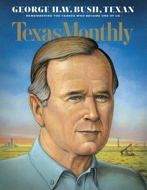 Cover of Texas Monthly January 2019