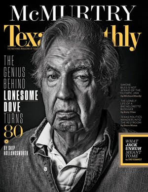 Cover of Texas Monthly July 2016