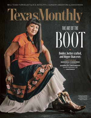 Cover of Texas Monthly December 2019