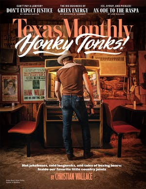 Cover of Texas Monthly September 2019