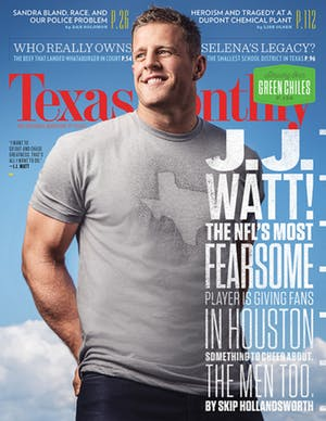 Cover of Texas Monthly September 2015