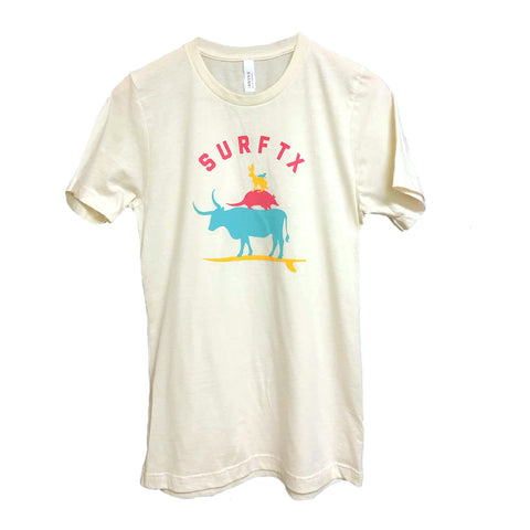 Surf Texas Tee - Natural