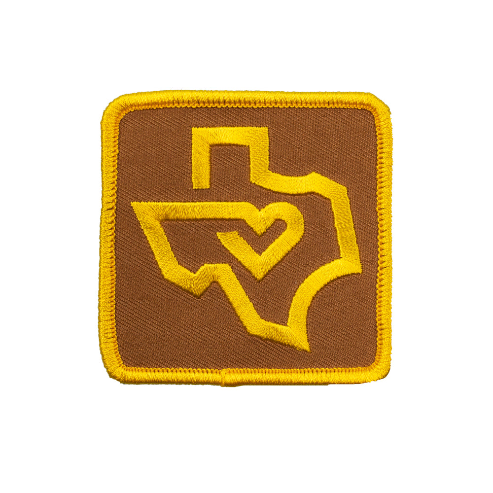 Thick Line Texas Patch