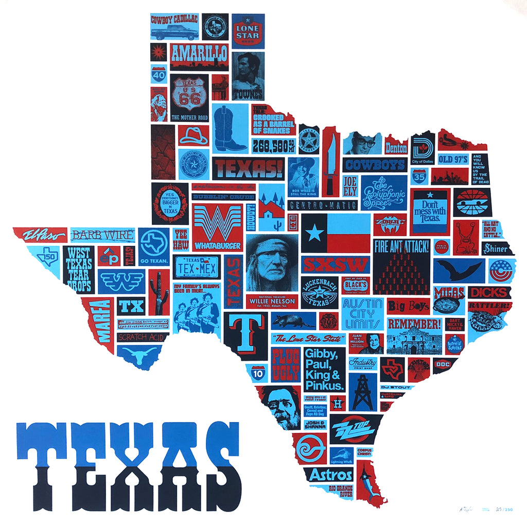 Totally Texas Poster