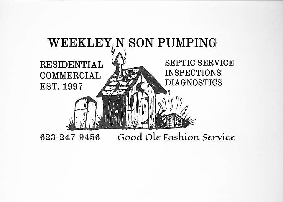 Septic pumping glendale septic phoenix septic weekley n son pumping septic repairs