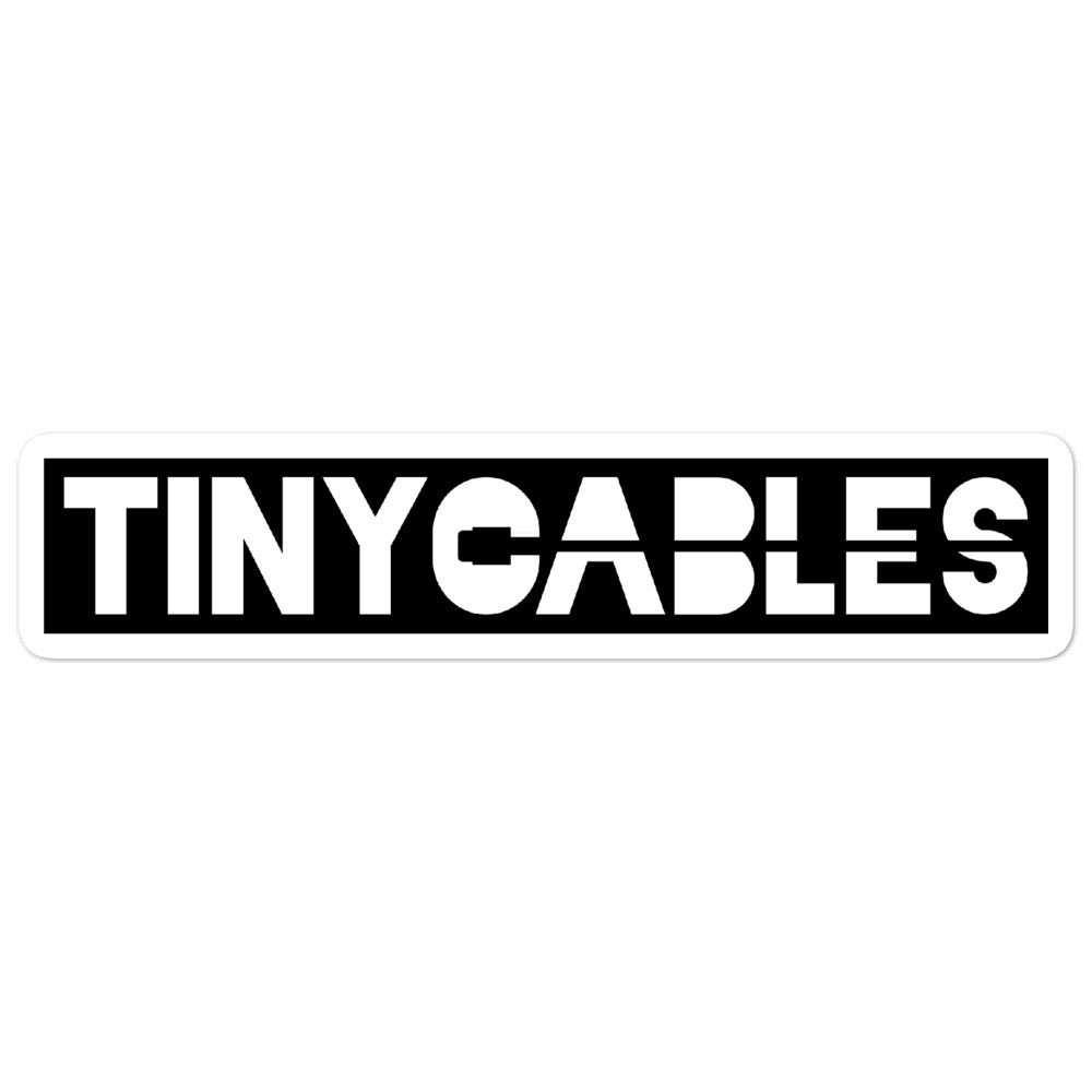 TINY Cables Sticker