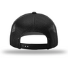 Snapback Trucker Hat - Black