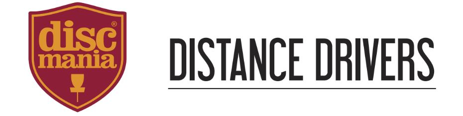 Discmania Distance Drivers Cover Banner