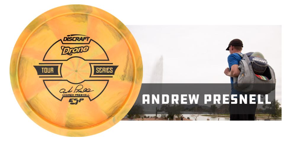 Discraft ESP Drone Tour Series 2019 - Andrew Presnell