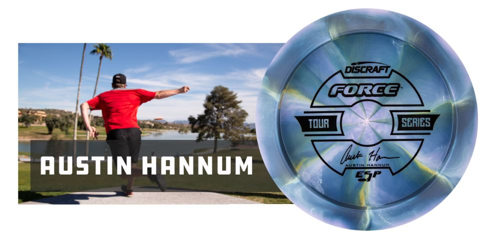 Discraft ESP Force Tour Series 2019 - Austin Hannum