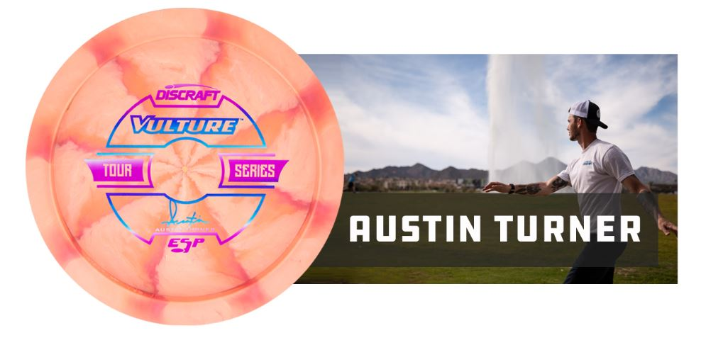 Discraft ESP Vulture Tour Series 2019 - Austin Turner