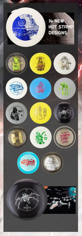 Discraft Star Wars Hotstamps
