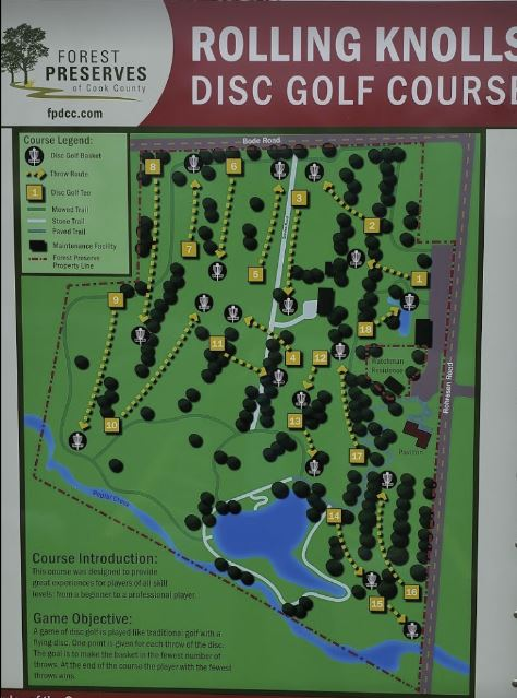 Illinois Disc Golf Rolling Knolls