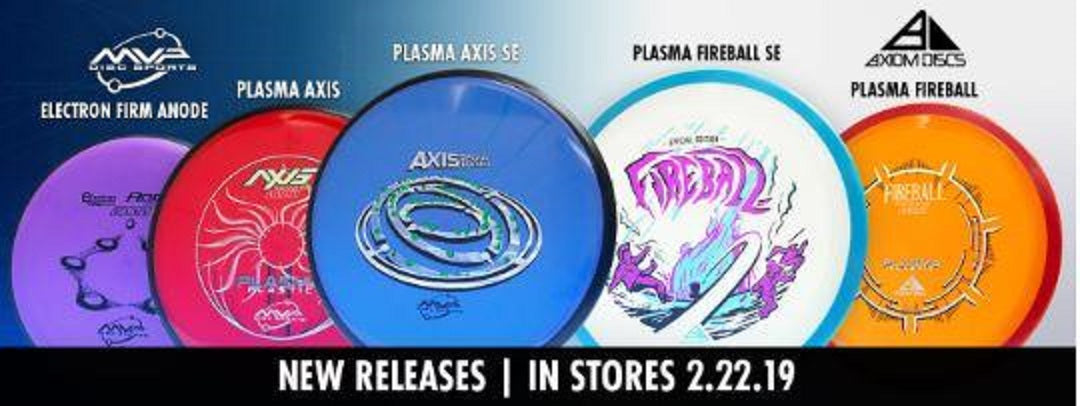 MVP and Axiom New Released Discs