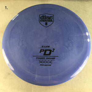 Discmania S-Line PD2 Blue