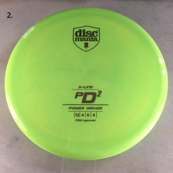 Discmania S-Line PD2 Green
