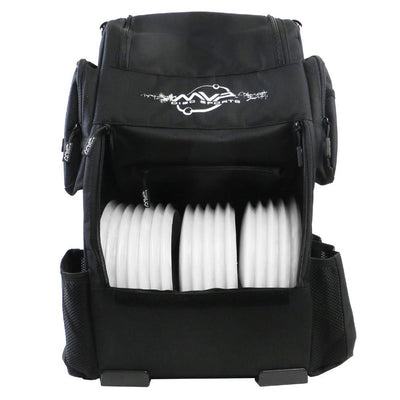This is a picture of the Voyager Backpack Back view MVP Disc Sports