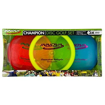 Innova Champion 3pc Disc Golf Set