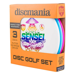 Discmania Active Disc Golf Set (3 Discs)