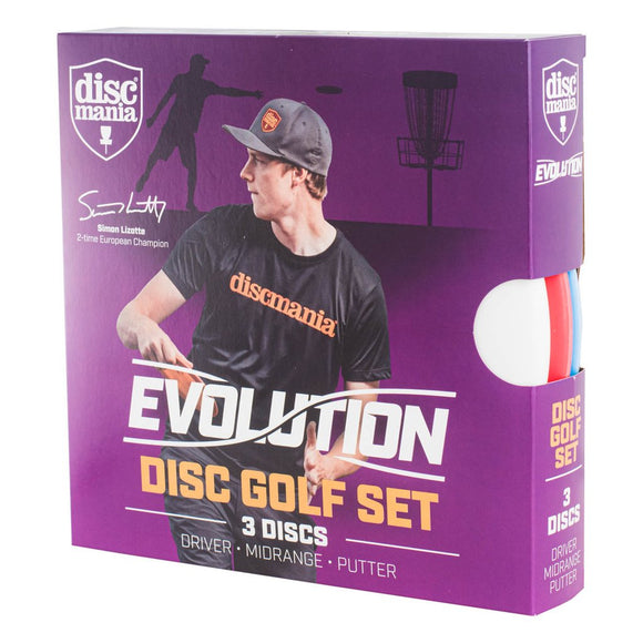 Evolution Disc Golf Set (3 Discs)